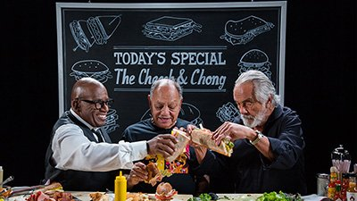 Al Roker Cold Cuts with Cheech and Chong