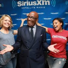 Al Roker at Sirius XM Satellite Radio
