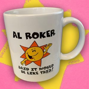 Al Roker Mr Sun Coffee Mug
