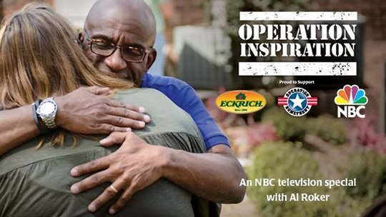 Operation Inspiration an NBC special hosted by Al Roker