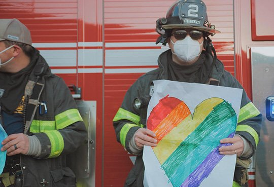 Firemen in New York