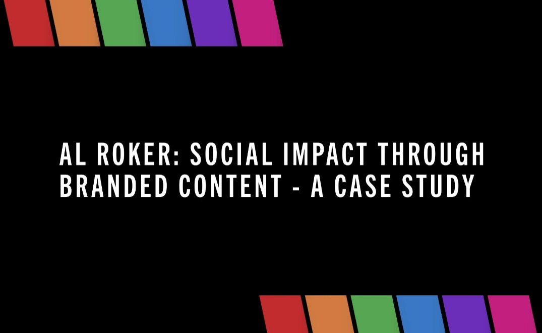 Case Study on Social Impact through Branded Content